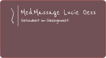 Med. Massage Lucie Oess
