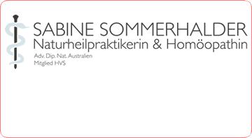 Sabine Sommerhalder – Naturheilpraktikerin & Homöopathin